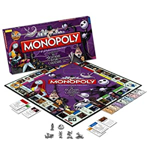Nightmare Before Christmas Monopoly!
