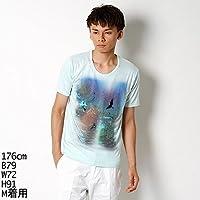 ハムネット(HAMNETT) Tシャツ(シャツ(ナイトビューエンブロイダリーTシャツ)