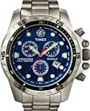 Timex Expedition Mens Watch T49799SU with Blue Dial and Bracelet