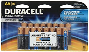 Duracell Ultra Power Aa Batteries 16 Count