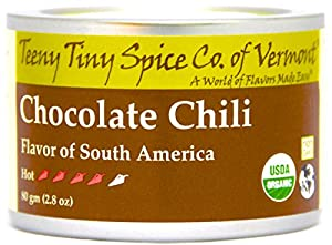 Teeny Tiny Spice Co. of Vermont Organic Chocolate Chili, 2.8 Oz