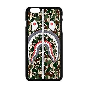 Bape Shark Camo Army Case for Iphone 6s plus,Bape Shark Camo Army Cover for 6 plus/ 6s Plus TPU Case