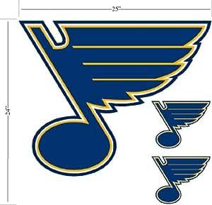 NHL St Louis Blues Wallmarx Hockey Wall Accent Set