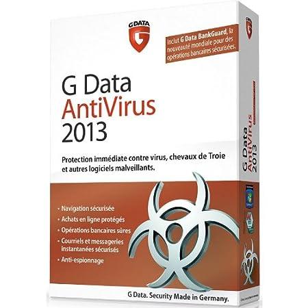 G Data antivirus 2013 (1 poste, 1 an)