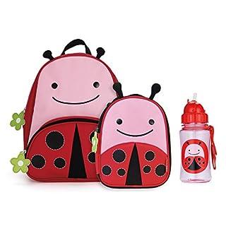 Skip Hop Zoo Backpack, Lunchie, and Bottle Set - Ladybug
