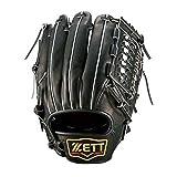 ゼット(ZETT) 軟式 プロステイタスシリーズ 二塁手・遊撃手用 BRGB30520 1900 ブラック LH