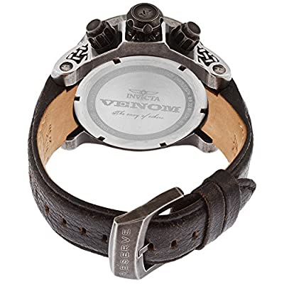 Invicta Men's 15956 Venom Analog Display Swiss Quartz Black Watch