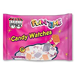 Funtime Kosher Candy Watches (Pack of 4)