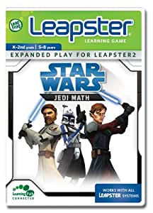 LeapFrog Leapster Learning Game Star Wars Jedi Math