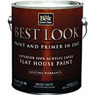 - HW35W0950-16 Best Look Latex Flat Paint And Primer In One Exterior House Paint