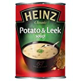 Heinz Classic Potato and Leek Soup 400 g (Pack of 24)