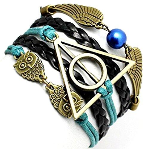 green-oil-black-pulsera-dell-amicizia-harry-potter-simbolo-triangulo-y-owl-circulo-y-idea-regalo-ali