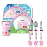 Peppa Pig Tea Party Tableware & Cutlery Set