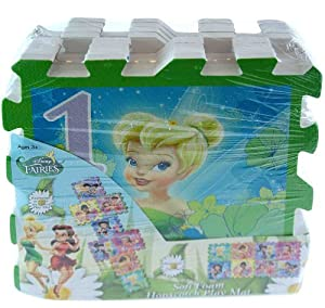 Tinkerbell Fairies 8pc Hopscotch Floor Mat Game from What Kids Want