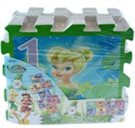 Tinkerbell Fairies 8pc Hopscotch Floor Mat Game