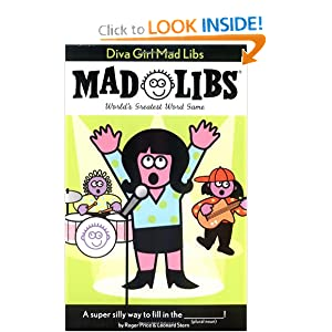 Diva Girl: Mad Libs Roger Price and Leonard Stern