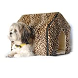 51WmS4ljl5L. SL160  Anima Cheetah Print Foldable Travel Hideout, Mini