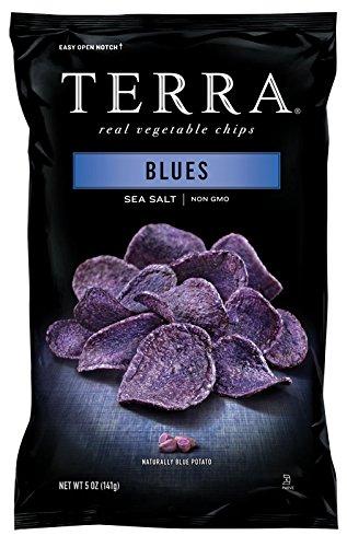 TERRA Blues, Sea Salt, 5 Ounce (Pack of 12) (Terra Chip Sea Salt compare prices)