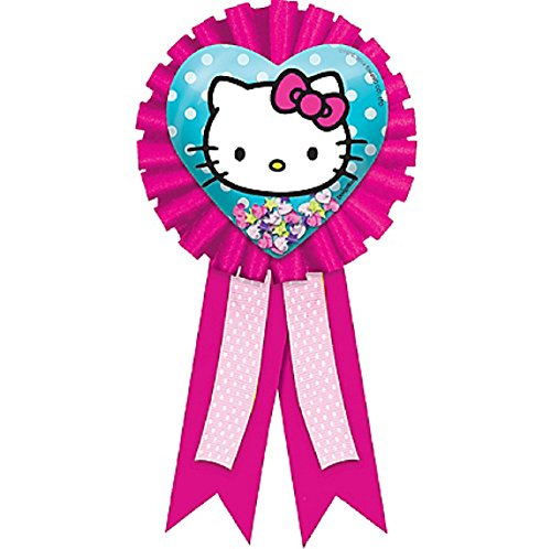 American Greetings Amscan Hello Kitty Rainbow Award Ribbon