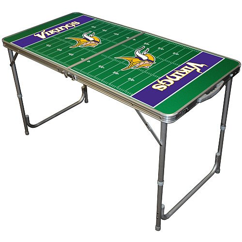 Buy cheap minnesota vikings 2x4 tailgate table for Supreme 99 table game