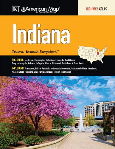 Indiana State Road Atlas