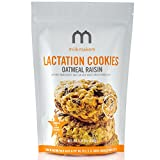 Milkmakers Oatmeal Raisin Dairy Free Lactation Cookies, 1 ten-pack (10 cookies)1LB 2oz(510g)