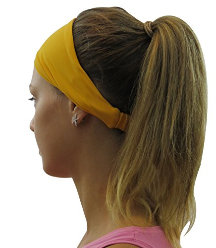Ice cream INTENSITY Nero Black Jogging Headband: No slip, Antibacterial, Hypoallergenic and Thermo Regulating