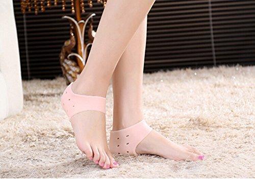 1-pair-gel-silicone-heel-cushion-protective-socks-breathable-sweatproof-unisex-sleeve-ankle-protecti