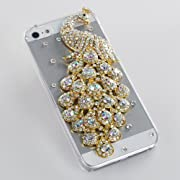 Bling White Peacock Case iPhone 5 5g