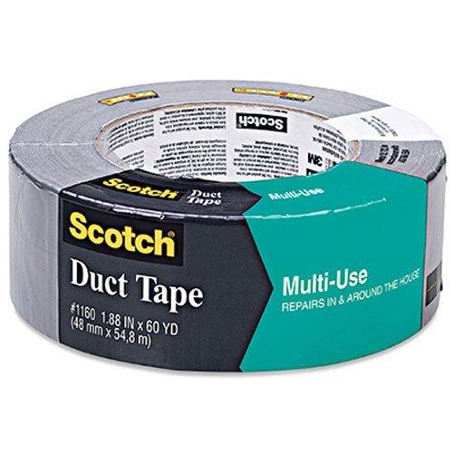 "3M Scotch 1160-A Multi Purpose Duct Tape, 60 yds Length x 2"" Width"