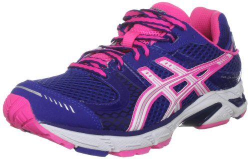ASICS Women's Gel Ds Trainer Blue/White/Pink Trainer T262N 5901 6.5 UK