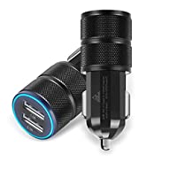 2Pack Car Charger, ShuoGe? 2.1A/24W 2…