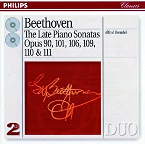 Beethoven: The Late Piano Sonatas Opus 90, 101, 106, 109, 110 & 111