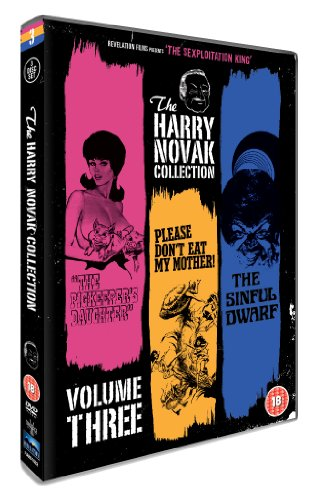 The Harry Novak Collection - Volume 3 (The Pigkeeper's Daughter, Please Don't Eat My Mother, The Sinful Dwarf) [DVD] [1972]