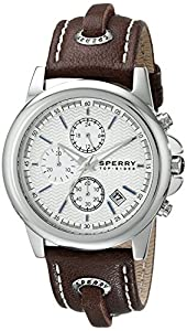 Sperry Top-Sider Men's 10008948 Navigator Analog Display Japanese Quartz Brown Watch by Sperry Top-Sider Watches MFG Code