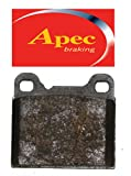 Apec Rear Brake Pads - Subaru Impreza (GM8) - 2.0 Turbo P1 - 1/2000-12/2001
