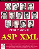 img - for Professional ASP XML by Mark Baartse (2000-01-01) book / textbook / text book