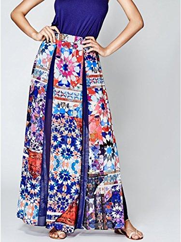 Marciano Womens Kaleidoscope Maxi Skirt