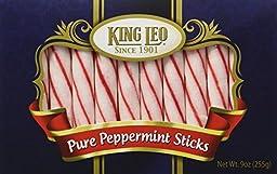 King Leo Soft Pure Peppermint Sticks 9oz