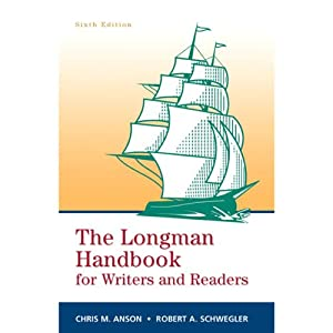 VangoNotes for The Longman Handbook for Writers and Readers, 6e | [Chris M. Anson and Robert A. Schwegler]
