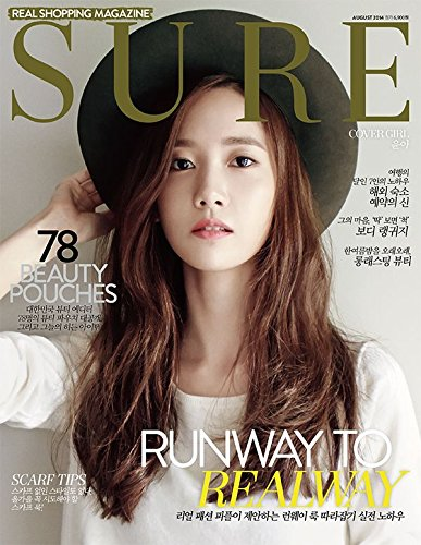 SURE 2014年8月号 another choice 表紙;ユナ (韓国雑誌)