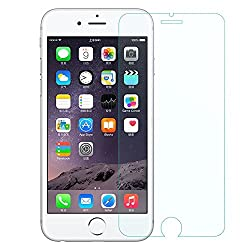 Mobilix For Apple iPhone 7 Tempered Glass Screen Protector Explosion Proof, 0.3mm 2.5D edge, 9H hardness, High Quality Real Toughened Glass, Pixel-Perfect Clarity