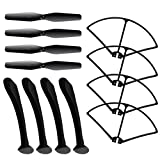 Spare Parts for Syma X8 X8C X8W Venture RC Quadcopter Main Blade Propelle/Propeller Protectors Blades Frame/Landing Skid