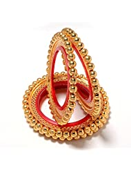 Bangles Gold Look Gokhru One Gram Gold Plated High Quality Handmade Real Bangles