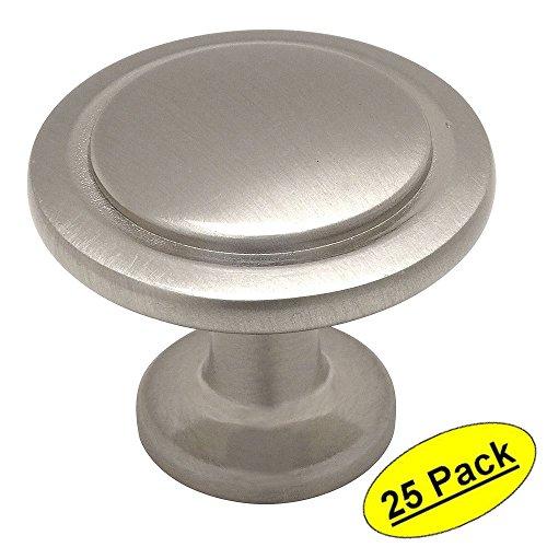 Cosmas® 5560SN Satin Nickel Cabinet Hardware Round Knob - 1-1/4