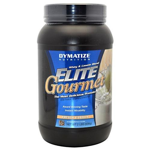 Dymatize Nutrition, Elite Gourmet Whey & Casein Blend French Vanilla 2 Lbs