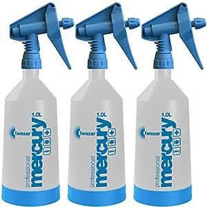Kwazar Mercury Pro + 1 Liter Spray Bottle (33 oz.) - 3 Pack