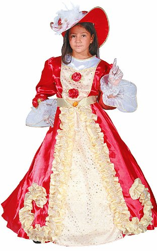 Noble Lady Princess Dress Child Halloween Costume Size 2T Toddler