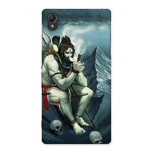 Cute Shiva Multicolor Back Case Cover for Sony Xperia Z2