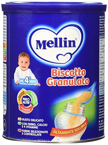 Mellin Biscotto Granulato, Nuovo Formato - 400 gr